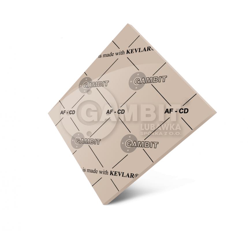 БЕЗАСБЕСТОВЫЙ ПАРОНИТ Gambit AF-CD (аналог-паронита общего назначения ПОН)