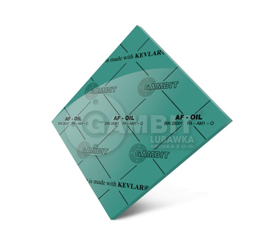 БЕЗАСБЕСТОВЫЙ ПАРОНИТ Gambit AF-OIL (аналог - паронита маслобензостойкого ПМБ)