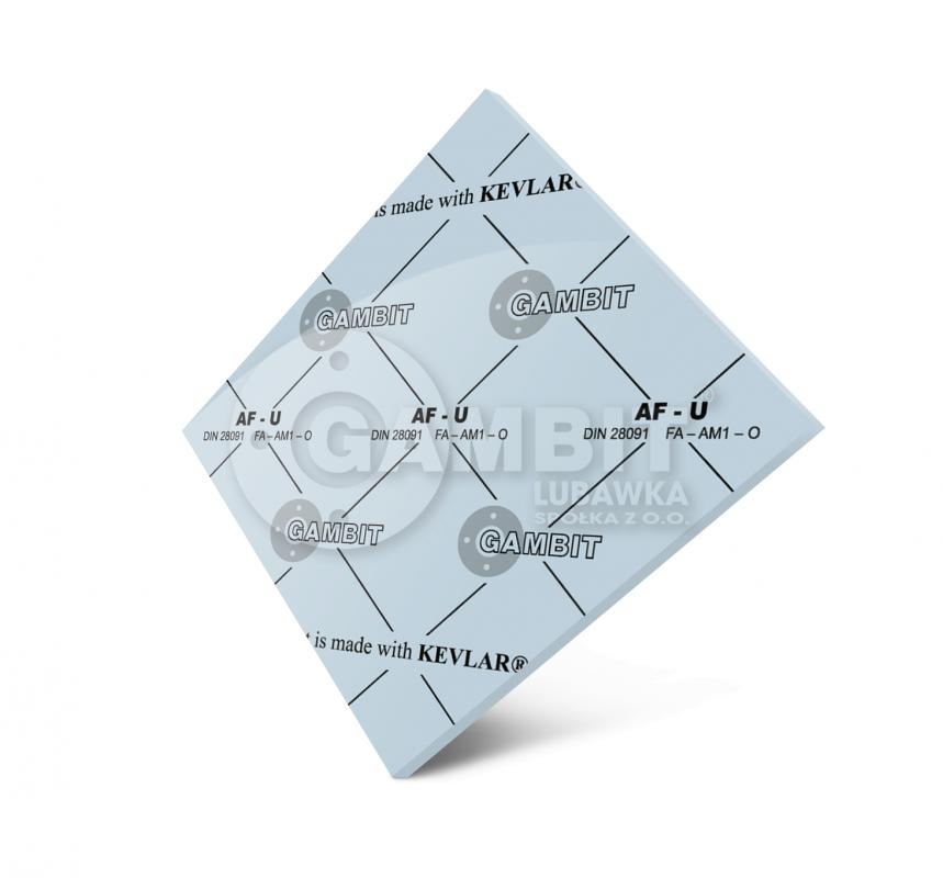 БЕЗАСБЕСТОВЫЙ ПАРОНИТ Gambit AF-U (аналог - паронита маслобензостойкого ПМБ)