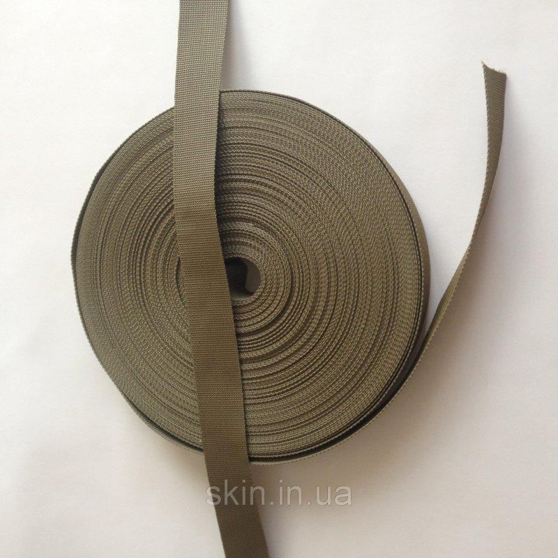 Полиамидная ременная лента, ширина - 40 мм, цвет - оливковый, артикул СК 5165