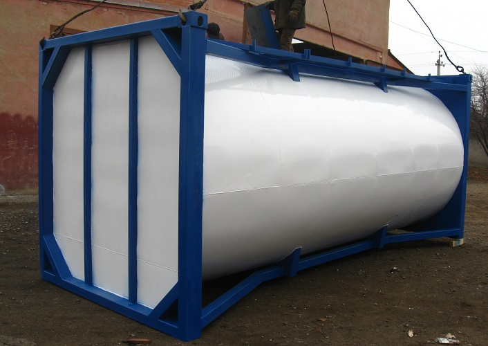 Buy The tank of container type for transportation of liquids