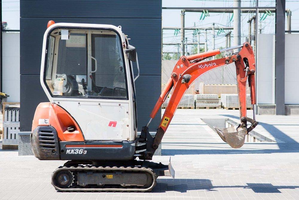 Diesel Kubota KX36-3 mini-excavator
