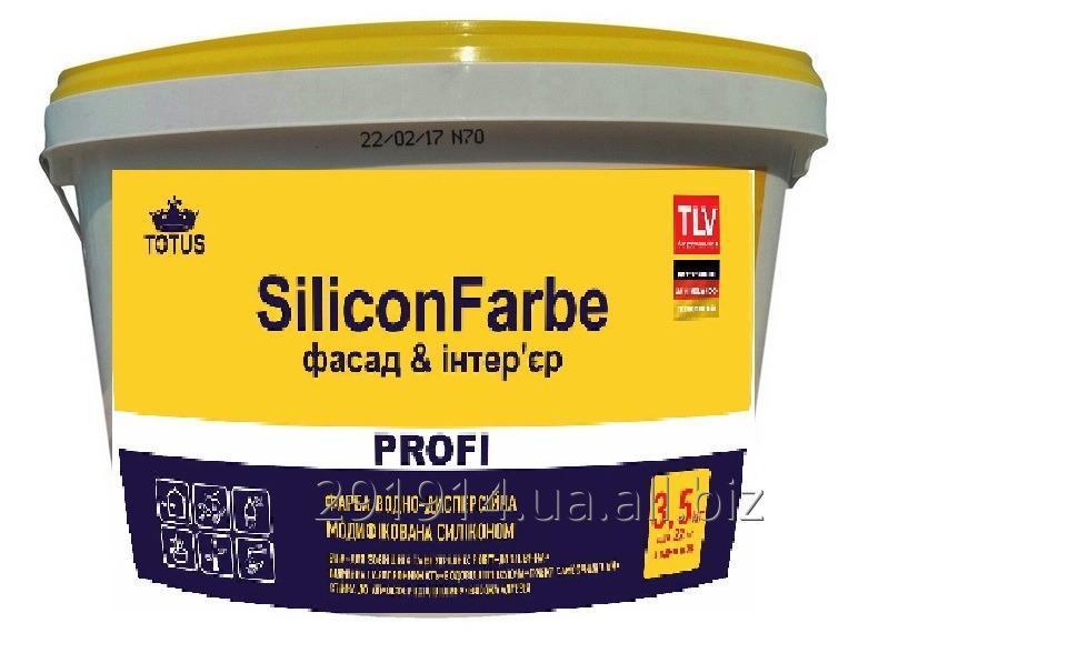 Купить Краска TOTUS SiliconFarbe водно дисперсионная модифицированная силиконом