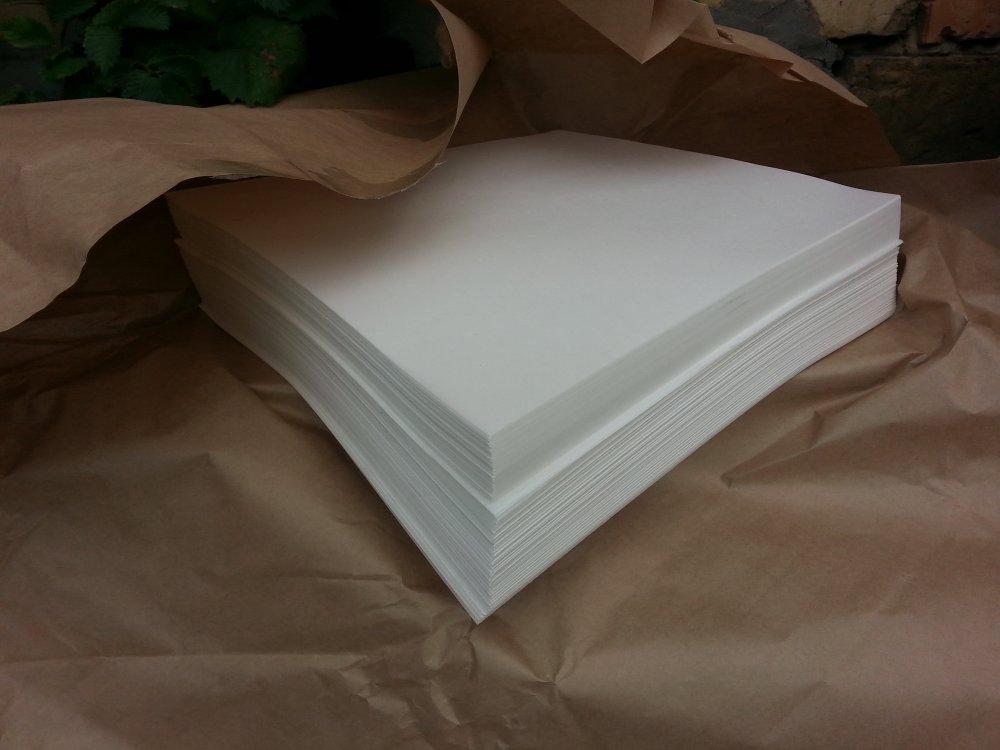 Бумага жиростойкая для упаковки масла
