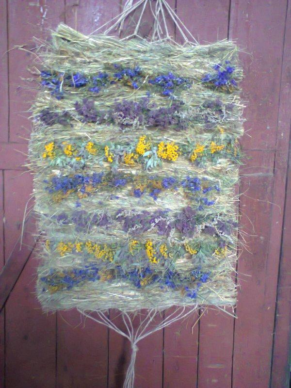 Коврик из трав луговых