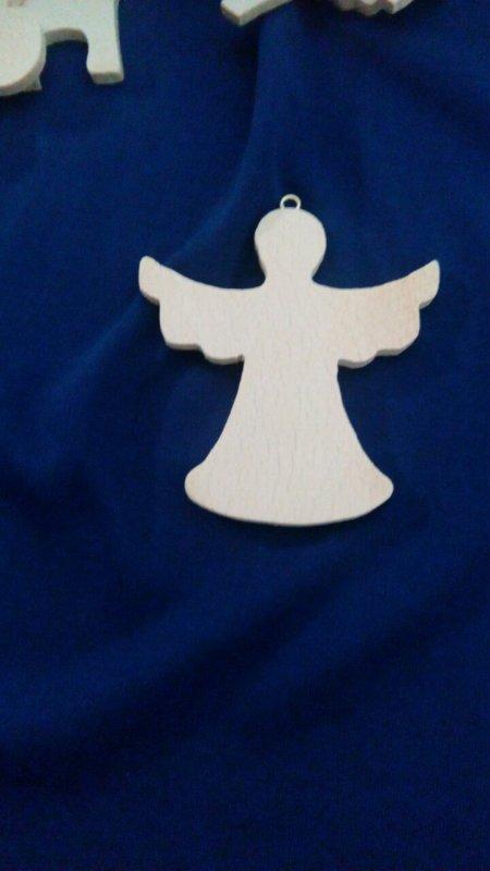 Подвеска-ангел с крильями+ крючок