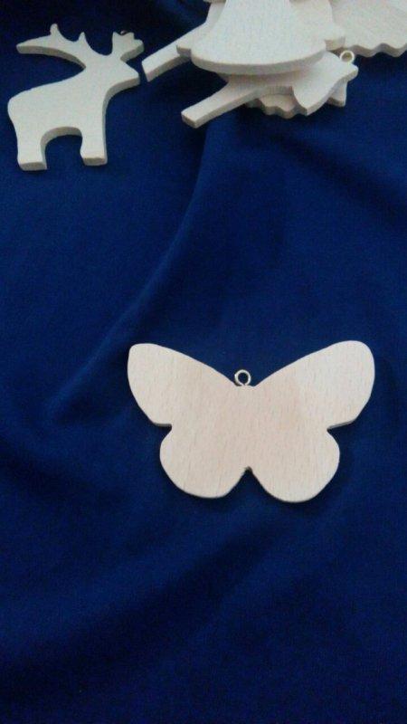 Подвеска-бабочка + крючок