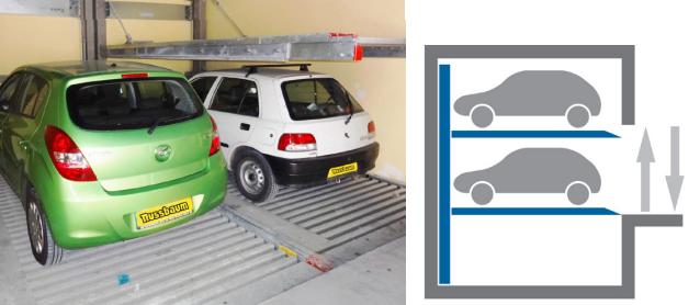Купить Автомобильная парковочная система LIFTPARKER N4802