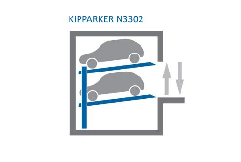 Купить Автомобильная парковочная система KIPPARKER N3302