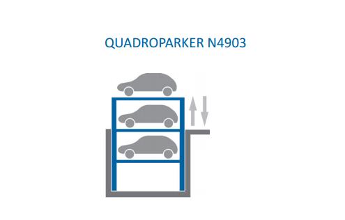 Купить Автомобильная парковочная система QUADROPARKER N4903
