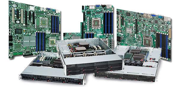 Комплектующие к серверам