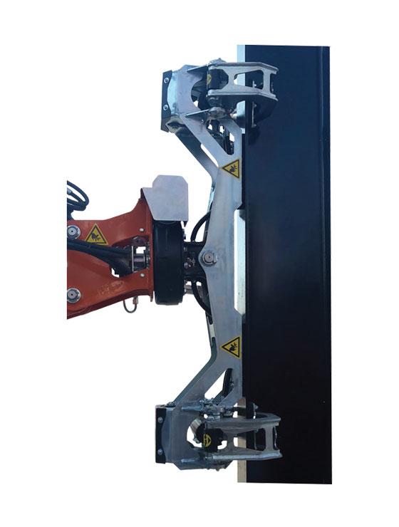Манипулятор-захват JIB302GR для двутавровых балок и швеллеров