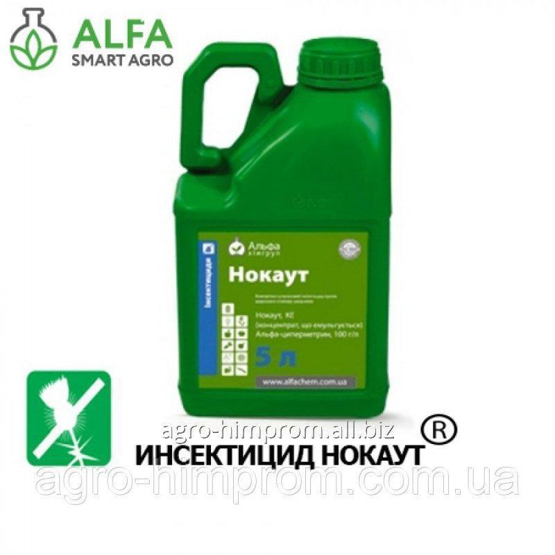 Інсектицид Нокаут Екстра (Фастак), альфа-циперметрин 200 г/л, для овочевих, плодових та зернових культур