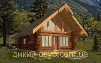 Деревянный дом дизайнерский