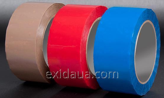 Защитная лента для всех видов картона и бумаги синяя SK-76
