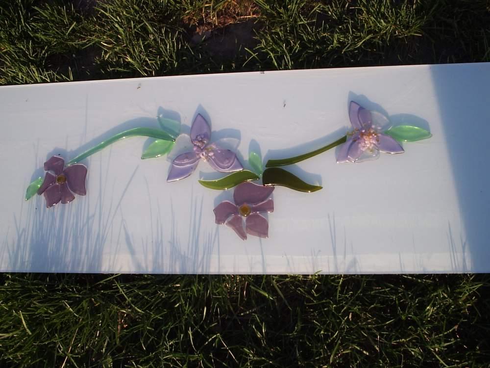 Купить Стеклянный декор для стекла, декор цветы от производителя в Украине