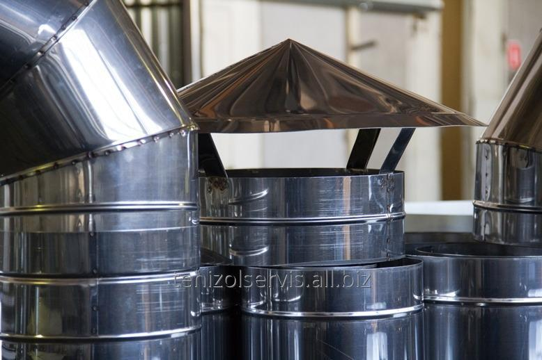 Buy Pipe chimney heatisolated