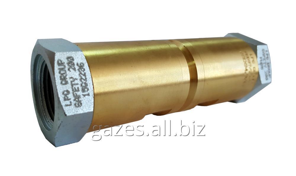 Разломная муфта LPG Group safety sft 200 3/4 GAS разрывная одноразовая  резьба цилиндрическая