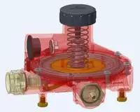 Регуляторы газовые для пропана, СУГ , регуляторные группы высокого, среднего и низкого давления, REGO, GOK, SRG, Coprim. Купить в Украине.
