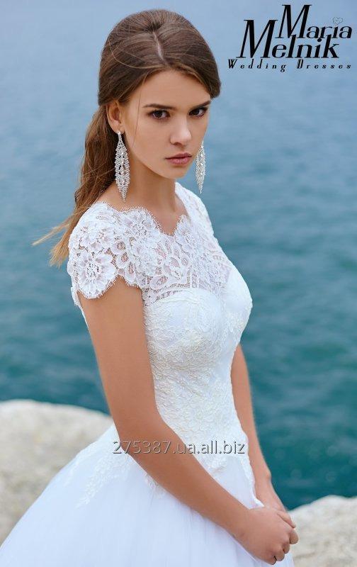 A-silhouette wedding dress with lace Irma buy in Kamenets-podolskij