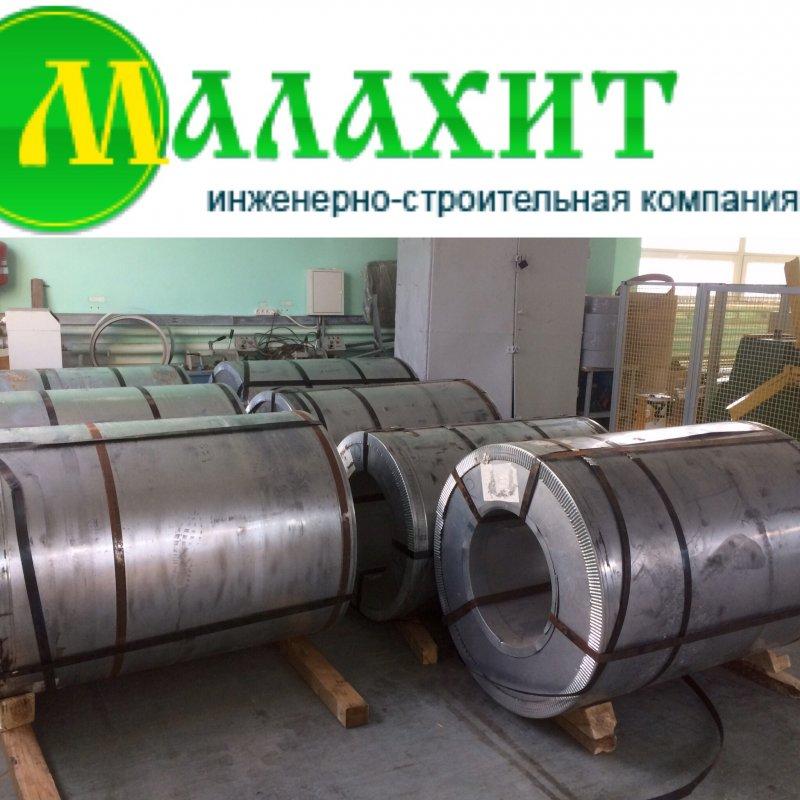Оцинкованная сталь в рулонах 1000, 1250 * 0,38 мм