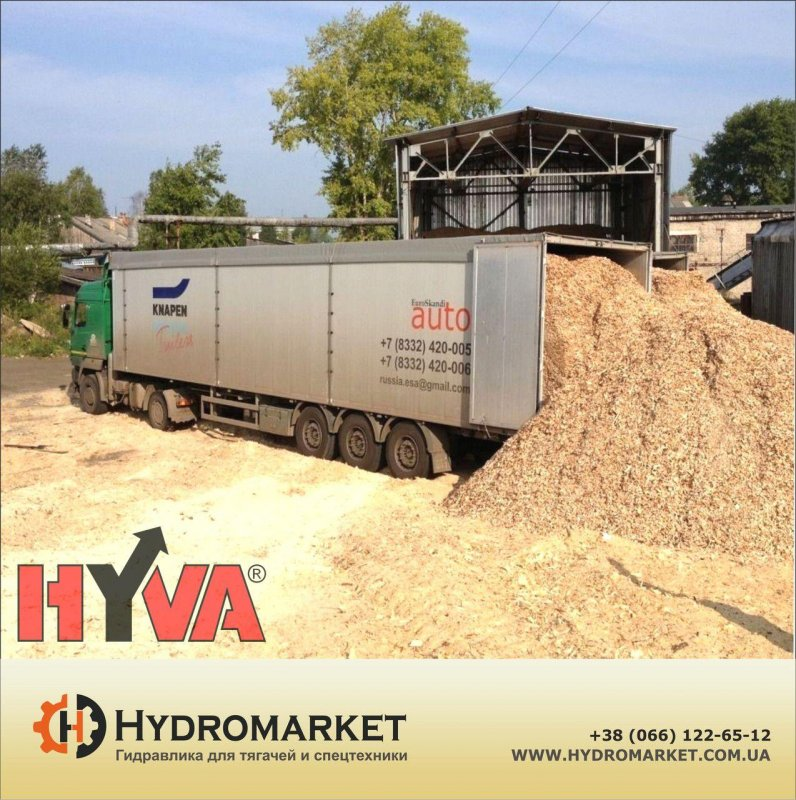 Buy Double-circuit Hydraulics of Hyva on the car