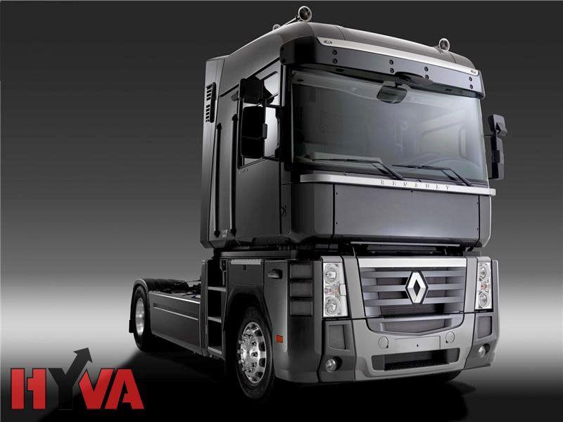 Купить Гидравлика Hyva на тягач Renault с пластиковым баком