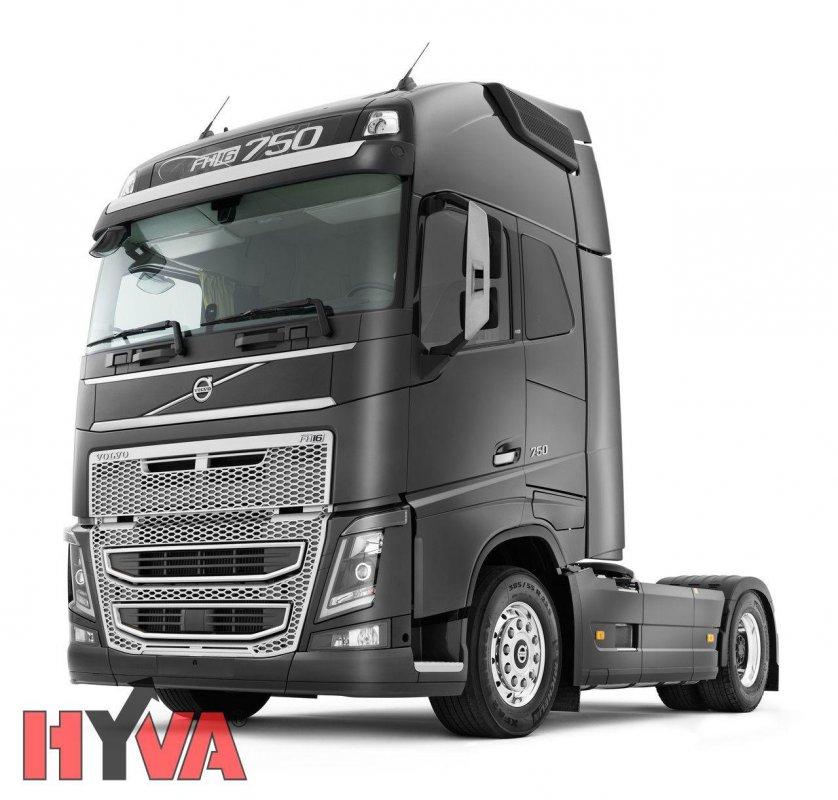 Купить Гидравлика Hyva на тягач Volvo
