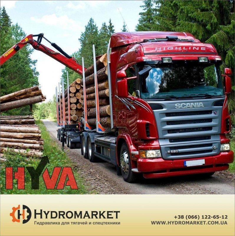 Купить Гидравлика Hyva на лесовоз