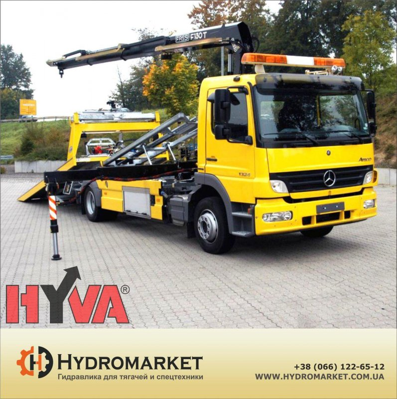 Buy Hyva hydraulics on the tow truck