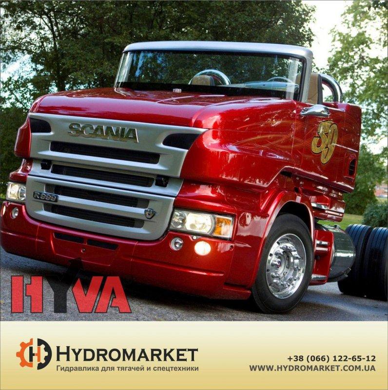 Купить Гидравлический комплект Hyva SCANIA GRS 905