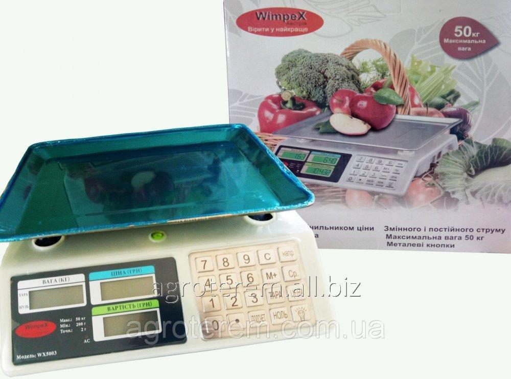 """Весы электронные 50 кг """"Wimpex WX-5003"""" (Вимпекс)"""