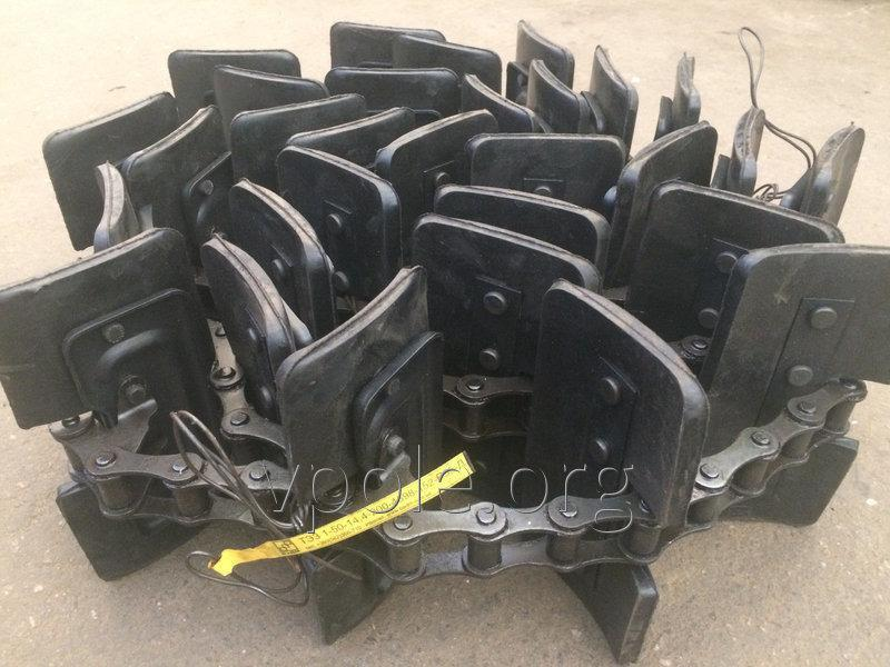 Транспортер цепной зернового элеватора ДОН-1500Б