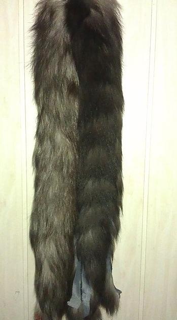 Pele de rapousa-cinzenta