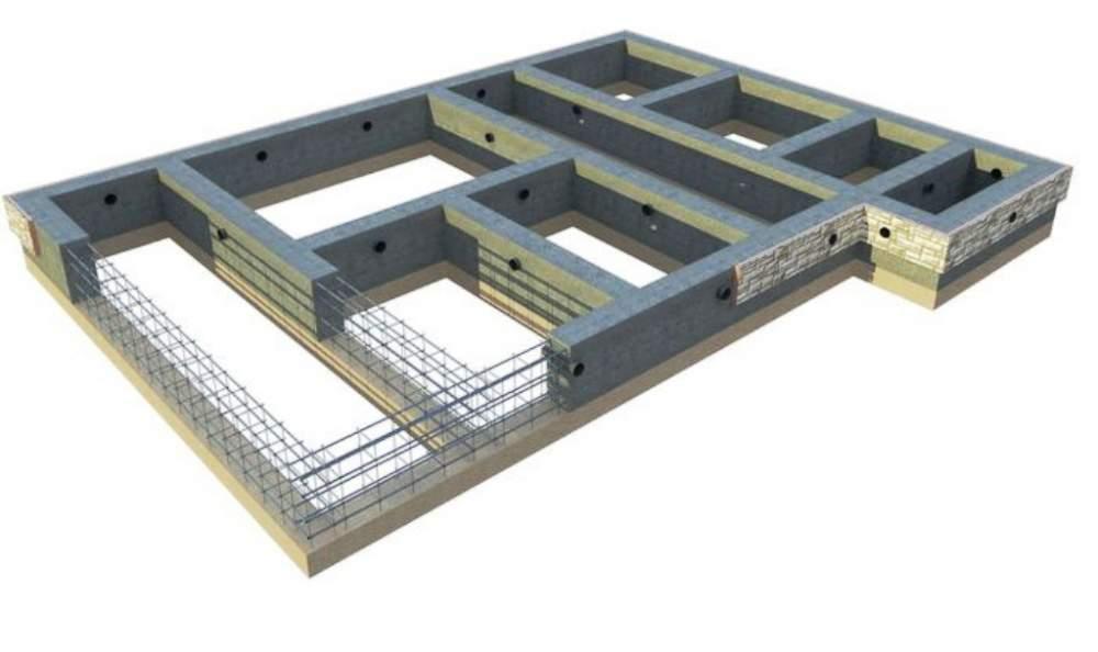 Фундамент малозаглублённый Ф15-9т-1