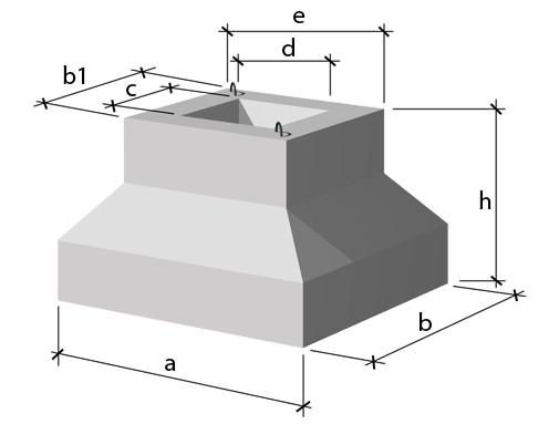 Фундамент стаканного типа