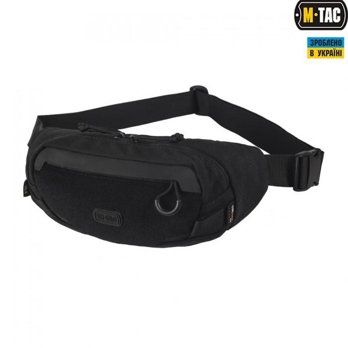 Сумка на пояс M-Tac Waist Bag черная