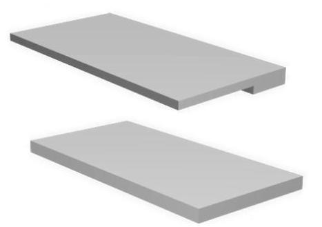 Карнизная железобетонная панель КПП-2