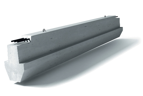 Stahlbeton-Riegel