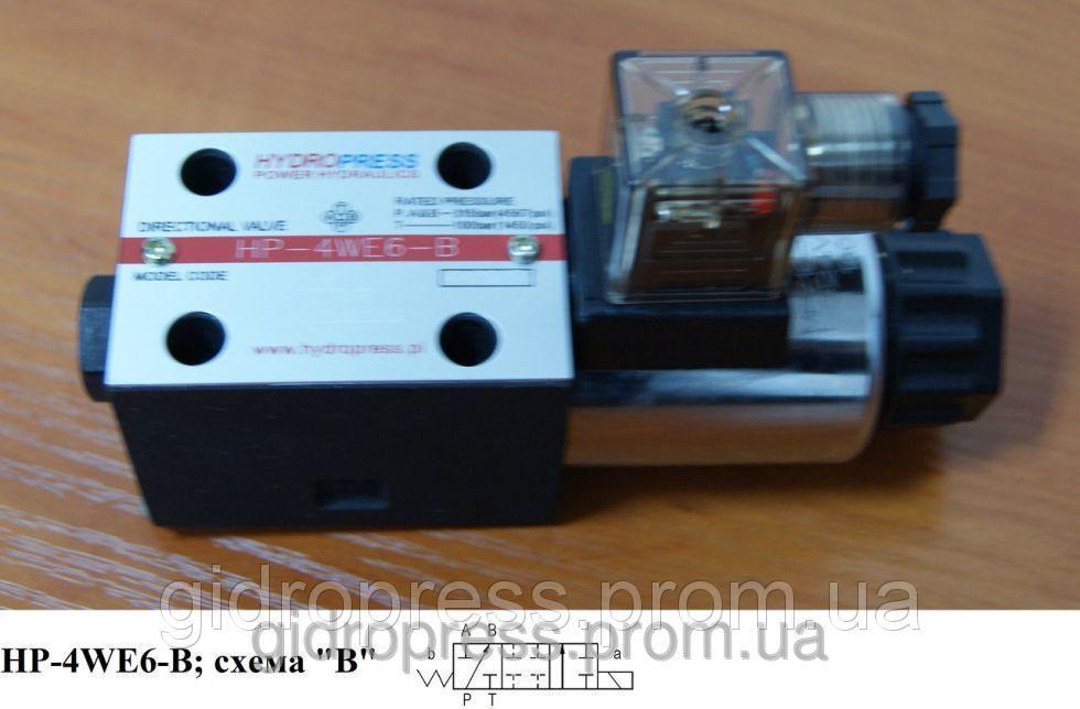 """Гидрораспределитель с электроуправлением - DN06, схема """"B"""""""