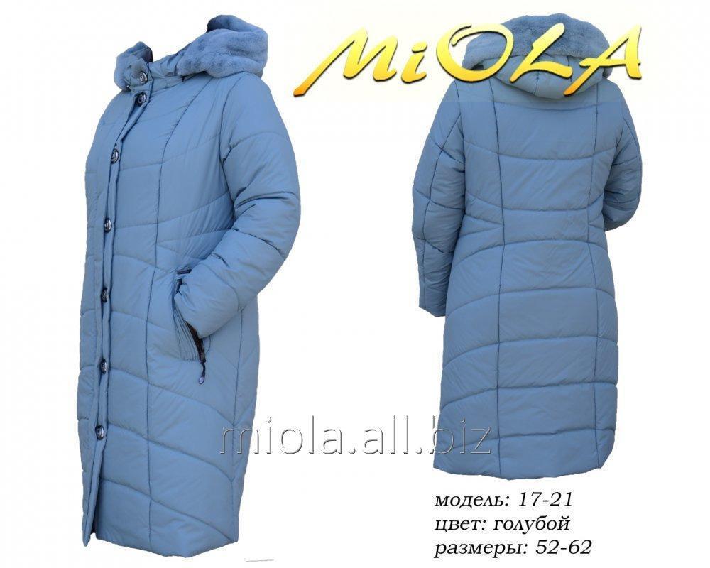 Зимнее женское пальто, мод.17-21, ТМ МиОЛА