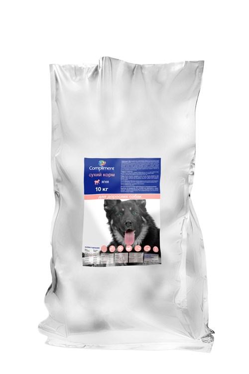 Сухой корм для собак Premium с ягненком и рисом (201207)
