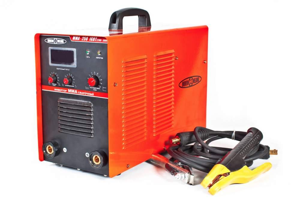Купить Инверторы для ручной дуговой сварки Modern Welding MMA-250 220-380B IGBT