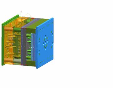 Пресс-форма для литья продукции из пластмассы на термопластавтоматах.