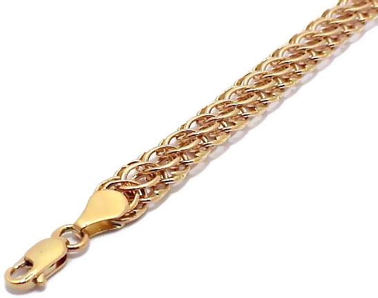женские золотые цепочки на руку