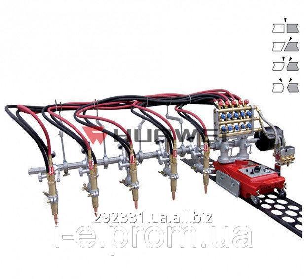 Самоходная машина для газовой резки 5-ю резаками GCD5-100