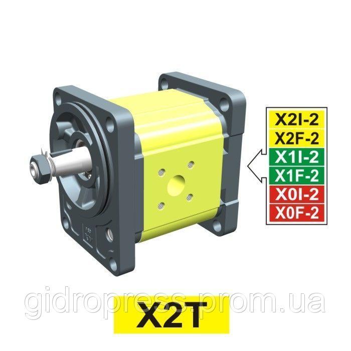 Купить Гидравлический шестеренный насос Vivoil XT217 - фланец ø80. Немецкий стандарт (Передняя секция)