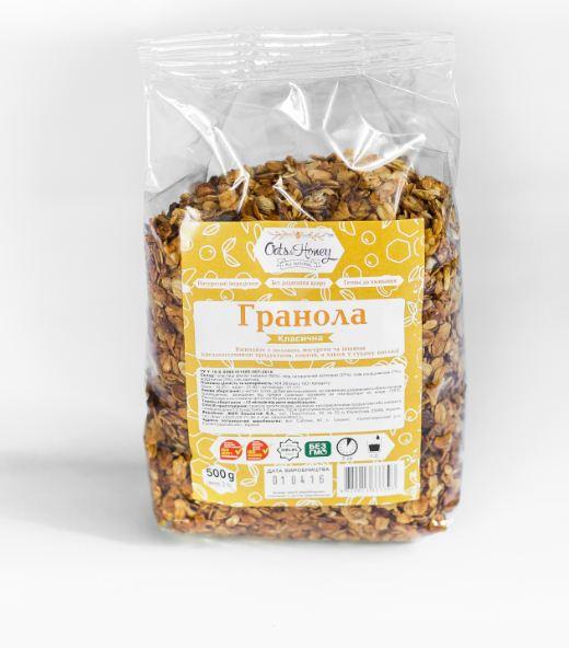 Granola Granola CLASSIC honning 500 g