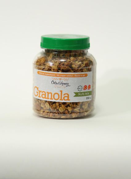 Honey Granola with nuts