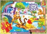 003 Пазлы ТМ G-Toys из серии Винни-Пух, 35 элементов